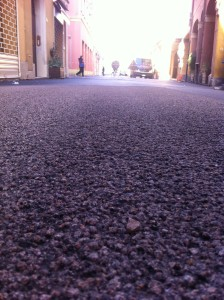 Una visione di Corso Italia verso Porta Garibaldi