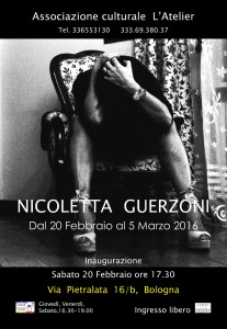 -x-L'Atelier-Invito-inaugurazione-mostra fotografica di Nicoletta Guerzoni-A Bologna-sch--jpg