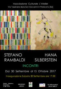 -xxx-L'Atelier-Invito-inaugurazione-mostra di H-Silberstein e S-Rambaldi AAA-jpg