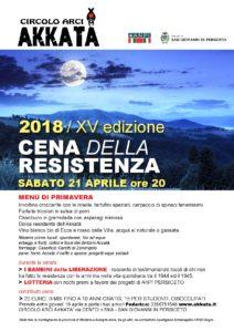 2018 CENA Resistenza